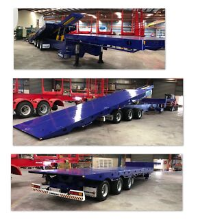 45ft super tilt slide semi-and large rigid tilt trays available