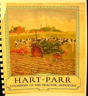 1925 Hart-parr Sales Manual All Of The New Models As Well As The Old