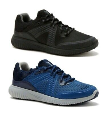 Avia Men's Black or Blue Lace-Up Runner Athletic Running Sneakers Shoes: 7-13