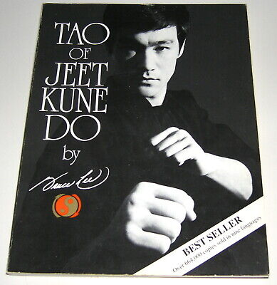 Tao of Jeet Kune Do by Bruce Lee (1975, Trade Paperback) ~ Good Condition