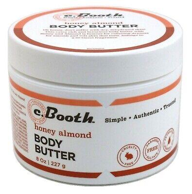 C. Booth Body Butter, Honey Almond, 8 Fluid Ounce
