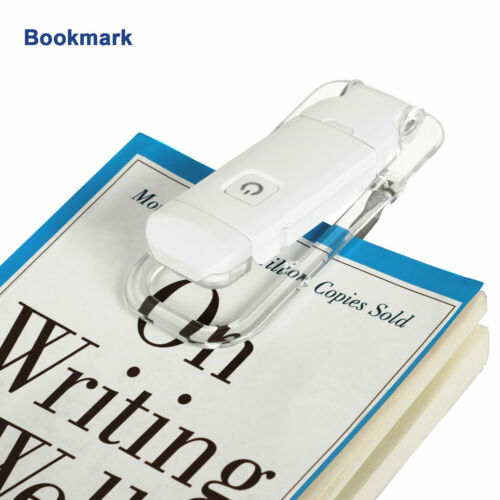 DEWENWILS LED Clip on Book Lights Rechargeable Book Light for Reading in Bed