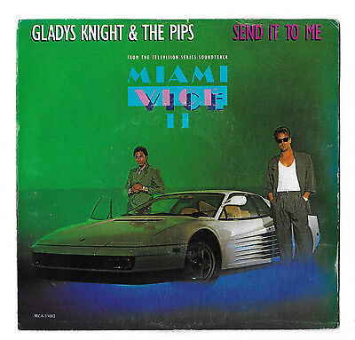 Gladys Knight   The Pips   Send It To Me   Christmas Everyday  Mca 1986 7  Ps Ex