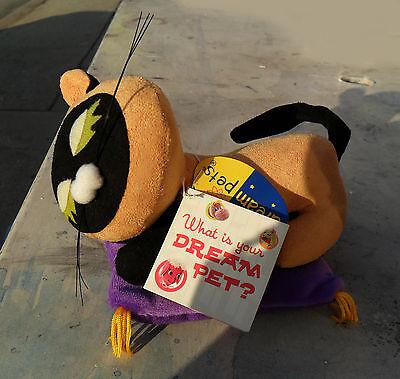 Retired Dream Pet Dakin Snoozie Suzie Siamese Cat Stuffed Velveteen Purple12