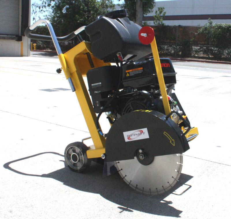 "Walk Behind Concrete Cement Pavement Floor 16"" Cut-Off Saw 420cc 13HP Gas Engine"
