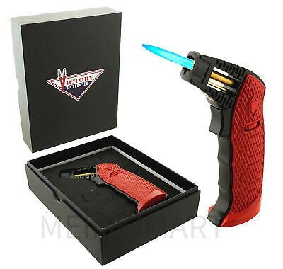 Holiday Limited Ed Jet Torch Table Top Lighter  Butane Refillable Gift Box 320