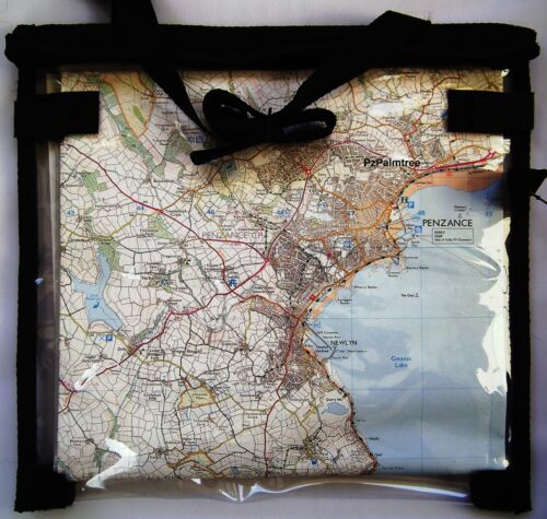 Deluxe Waterproof  Map Case Wallet Cover Walking Hiking Scouts D of E Cycling