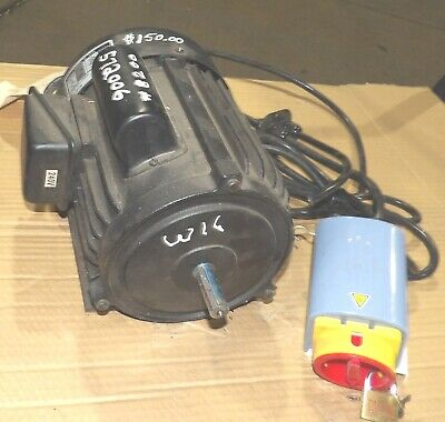 2 Hp Motor From Shop Fox W1674shaper-with Switch-reversible