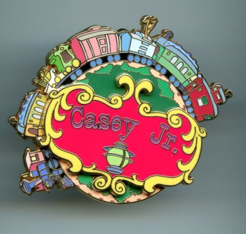 Disney Auctions Dumbo Casey Jr. Circus Train Spinner LE 500 Pin