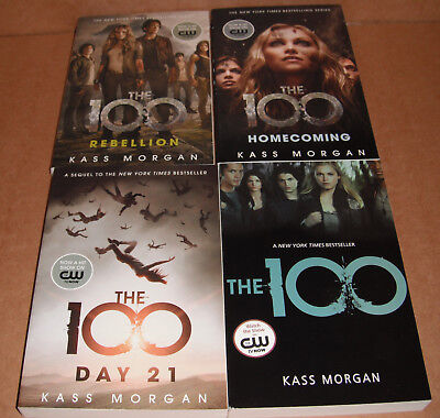 The 100 Vol. 1,2,3,4 Complete Set by Kass Morgan Paperback