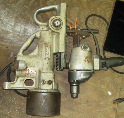 Bux Shrader L2 General Purpose Magnetic Drill Press w Black & Decker 1321 Type 3