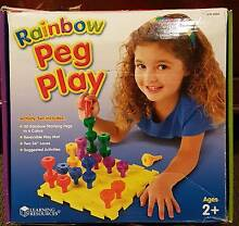 Rainbow peg play Byford Serpentine Area Preview