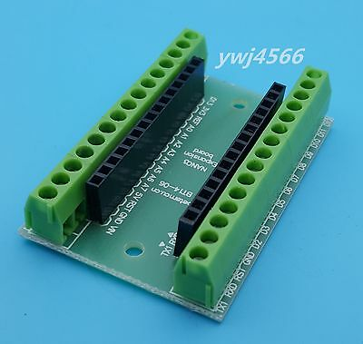 10 Set Terminal Adapter Board For The Arduino Nano V3.0 Avr Atmega328p-au Module