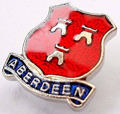 Aberdeen City Crest Small Pin Badge