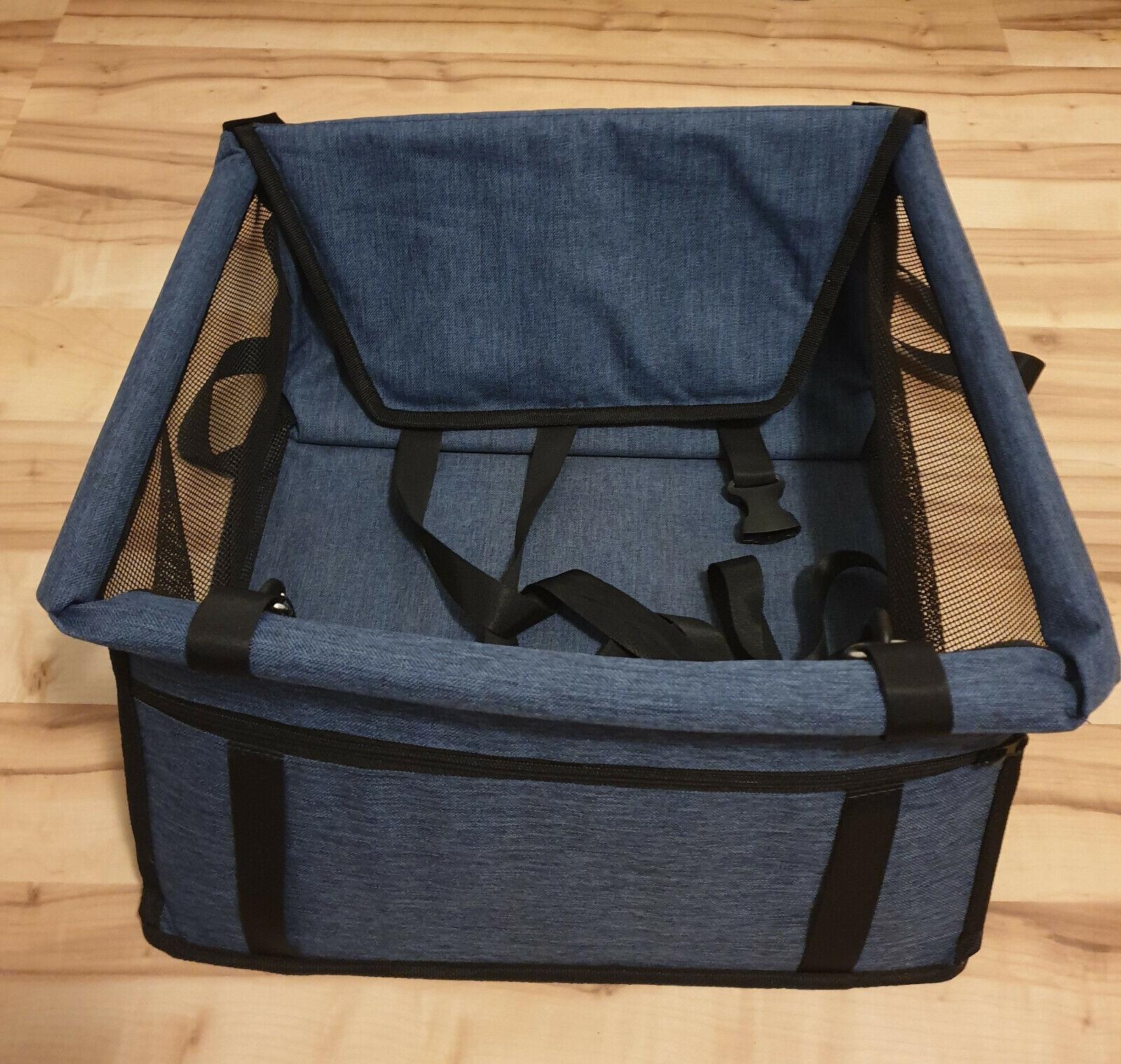 Transport-Tasche für Hund oder Katze / Transportbox für Auto etc. / NEU