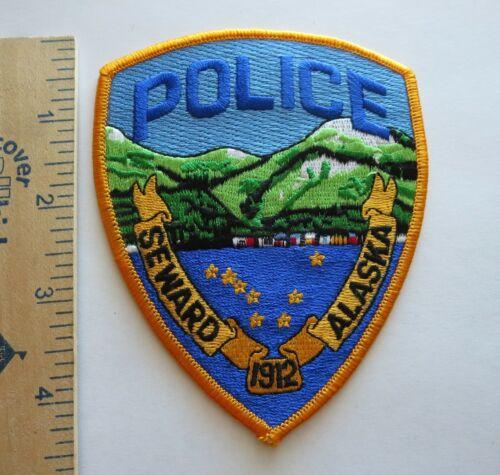 SEWARD ALASKA POLICE PATCH Vintage Original