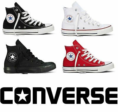 Converse All Star Chuck Taylor Hi Tops Unisex Mens Womens Trainers All Sizes
