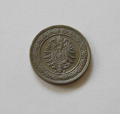 KAISERREICH: 20 Pfennig 1888 A, J. 6, prägefrisch/unc.,   I.