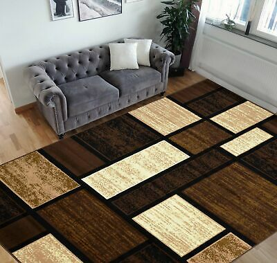 Terra Matrix Woven Olefin Square Area Rug Chocolate Tan For Sale Online Ebay