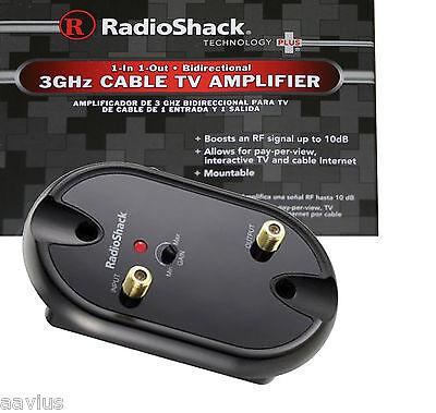 Radioshack 3ghz Rf/uhf/vhf/fm/tv Antenna Bidirectional Si...
