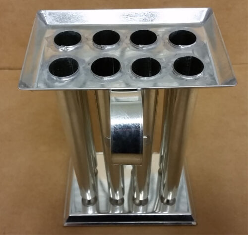 8 TUBE TAPER Metal Candle Mold (8 inch Tapers)
