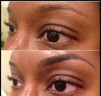 Eyebrows tattoo 250$