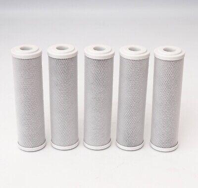 10x 5mcr Carbon Block Aktivkohleblock Aktivkohle Wasserfilter Kalk Chlor Osmose