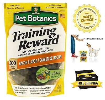 Pet Botanics Training Reward Treats 20-Ounce Low Calorie Bacon Taste