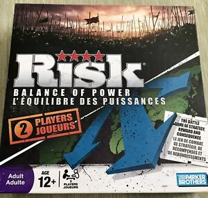 Risk Balance of Power 2-player board game-complete