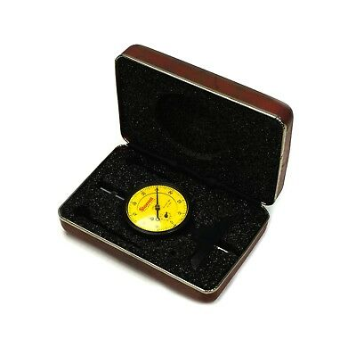 Starrett 664mj Metric Dial Depth Gage 0.75mm Range .01mm Grad In Case