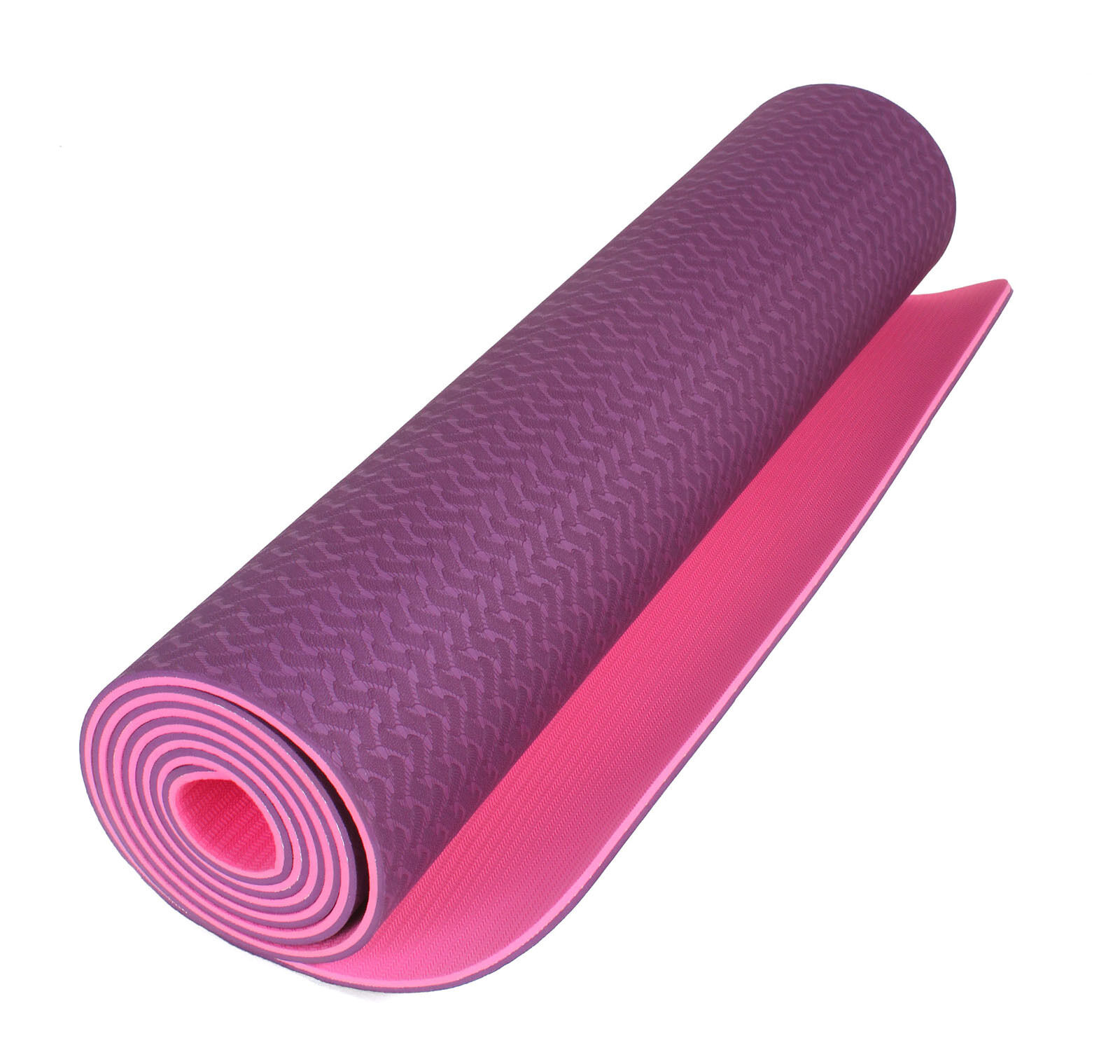 "Yoga Sticky Mat- 1/4"" Deluxe Extra Thick Sold with Strap and"