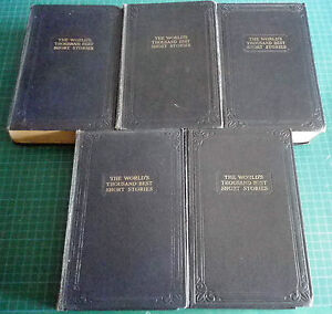 Masterpiece Library of Short Stories Volumes 1 - 10 Circa 1930