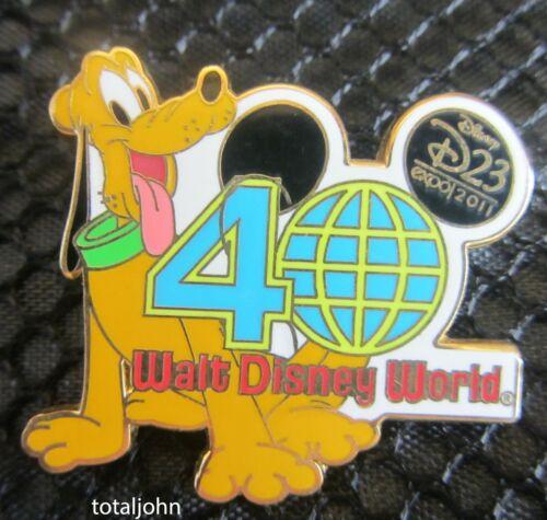 85147 D23 2011 Expo Walt Disney World® Resort 40th Anniversary Mystery Pluto Pin