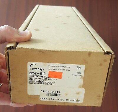 Invensys Siebe T150-1031  2252-610 Temperature Transmitter New In Box