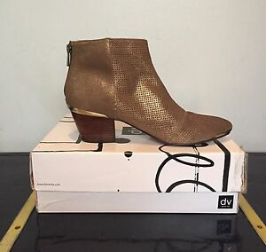 DV by Dolce Vita Suede Ankle Boots - 9.5