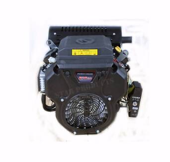 "NEW 22HP Petrol Engine 1"" Horizontal Shaft V-TWIN Electric Start"