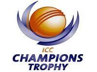 India V Sri Lanka - 4 PLATINUM Tickets @ Oval on 8 June 2017