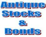 Antique Stocks and Bonds