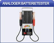 Analog Batterietester