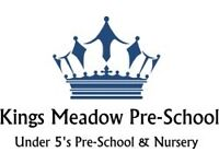Qualified Nursery Nurse (term time only)