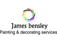 James Bensley painting &decorating services