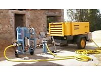 Equipment wanted for cleaning blockwork