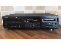 SHARP MD/CD DECK - MD-R3H with Remote...