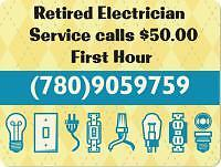 Electrician Retired $50 Per Hour