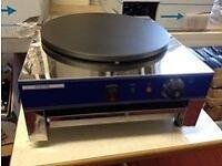 Crepe Maker - Pancake Machine *METALLIC*