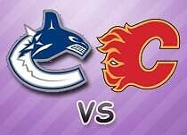 2 Lower Bowl Vancouver Canucks vs Calgary Flames Tickets
