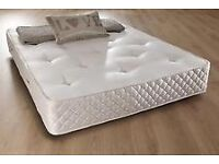 NEW DOUBLE OR SMALL DOUBLE 10 INCH DEEP MEDIUM FIRM ORTHO MATTRESS