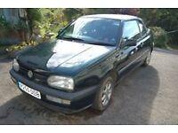 VW GOLF SOFTTOP 1998