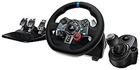Logitech g29 racing wheel for ps4/ps3 and pc (SWAPS) message me
