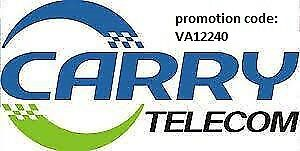 CARRYTEL internet installation with Official promo code VA12240